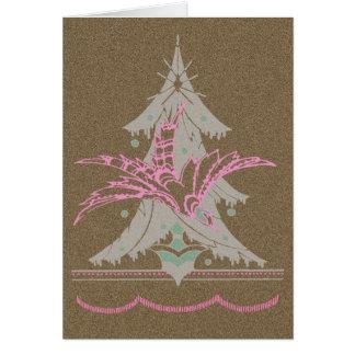 The Christmas Tree Bird Card