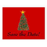 The Christmas Tree, Save the Date! Post Card