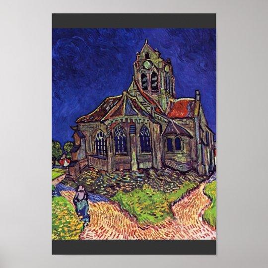 The Church At Auvers-Sur-Oise,  By Vincent Van Poster