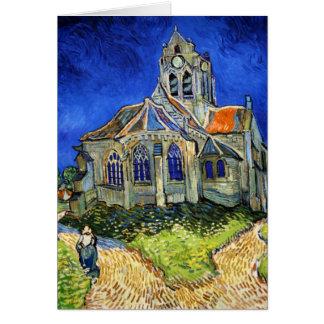 The Church At Auvers: Vincent Van Gogh Card