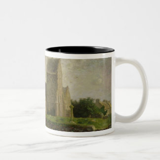 The Church at Greville, c.1871-74 Two-Tone Coffee Mug