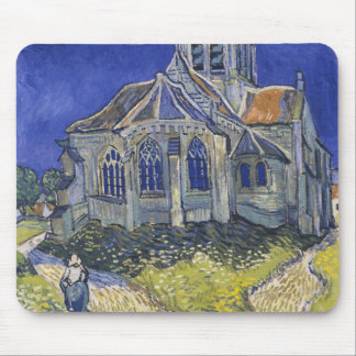The Church in Auvers by Vincent van Gogh Mouse Pads