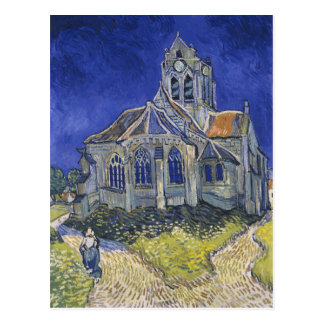 The Church in Auvers by Vincent van Gogh Postcard