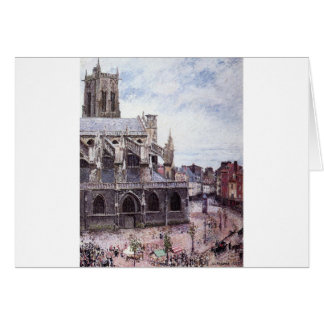 The Church of Saint Jacues, Dieppe, Rainy Weather Card