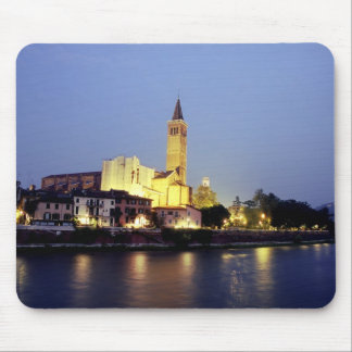 The church of Sant'Anastasia in Verona, Italy. Mouse Pad