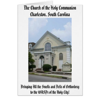 The Church of the Holy Communion Card