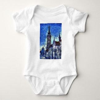 The Church Vincent Van Gogh Baby Bodysuit
