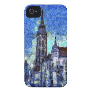 The Church Vincent Van Gogh Case-Mate iPhone 4 Cases