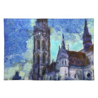 The Church Vincent Van Gogh Placemat