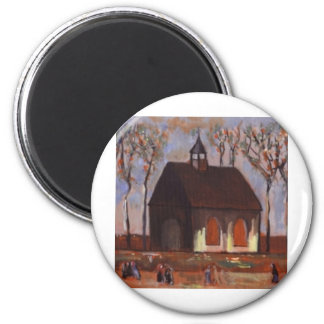 THE CHURCHGOERS 2 INCH ROUND MAGNET