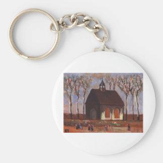 THE CHURCHGOERS BASIC ROUND BUTTON KEYCHAIN