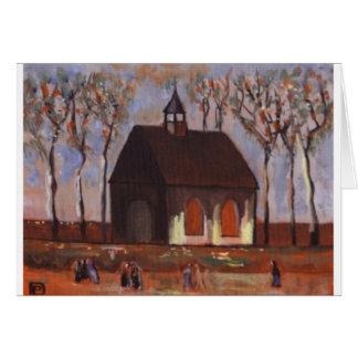 THE CHURCHGOERS GREETING CARD