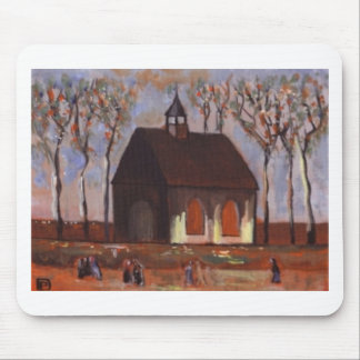 THE CHURCHGOERS MOUSE PAD