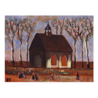 THE CHURCHGOERS POSTCARD