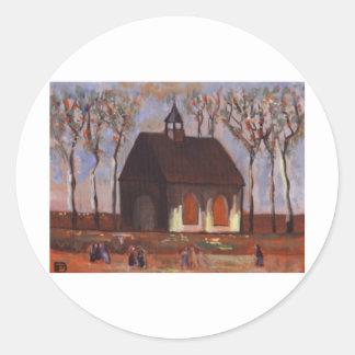 THE CHURCHGOERS ROUND STICKER