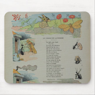 The Cicada and the Ant from the Fables Mouse Pad
