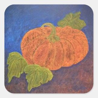 The Cinderella Pumpkin Square Sticker