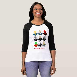 The Cinema Snob Faces - Women's 3/4 Sleeve T-Shirt