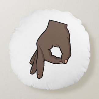 The Circle Game 2 Round Pillow
