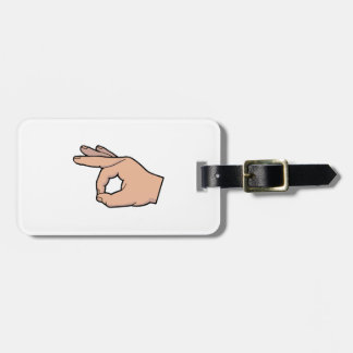 The Circle Game Luggage Tag