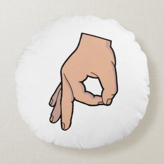 The Circle Game Round Pillow