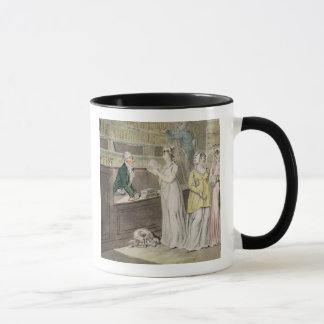 The Circulating Library (pen and ink and w/c and w Mug