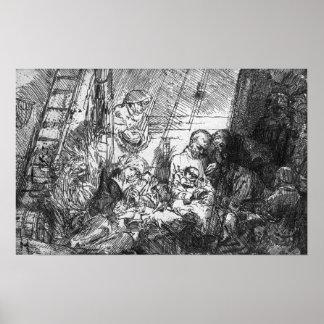The Circumcision, 1654 Poster