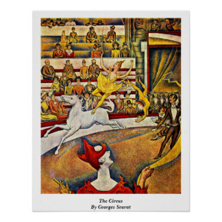 The Circus By Georges Seurat Poster