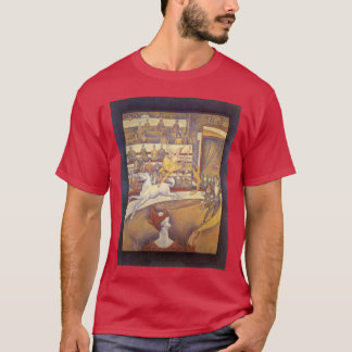 The Circus by Georges Seurat, Vintage Pointillism T-Shirt