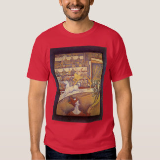 The Circus by Georges Seurat, Vintage Pointillism T Shirts