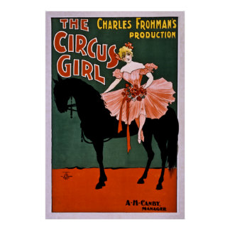 The Circus Girl Poster