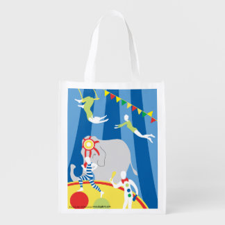 The Circus Ring Reusable Grocery Bag