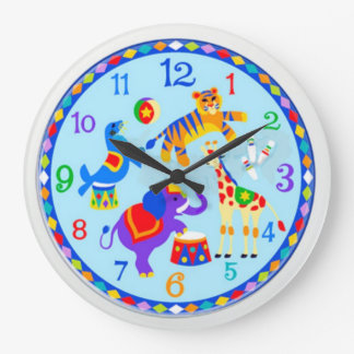 The circus wall clocks