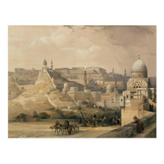 "The Citadel of Cairo, from ""Egypt and Nubia"" Postcard"