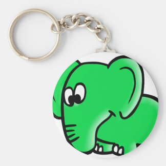 The citizen of Berlin elephant for Hosent Keychain