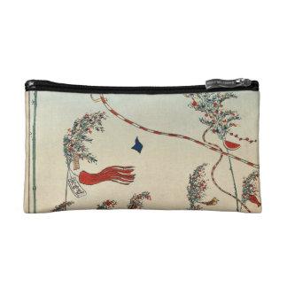 The City Flourishing, Tanabata Festival. Cosmetic Bag