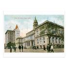 """The City Hall"" New York Postcard"