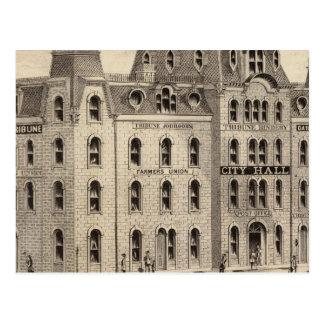 The City Hall of Minneapolis, Minnesota Postcard