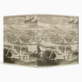 The City of Mexico, 1723 (engraving) Vinyl Binder
