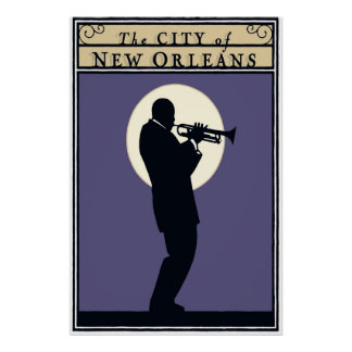 The City of New Orleans, Poster