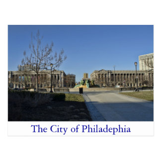 The City of Philadelphia Postcard