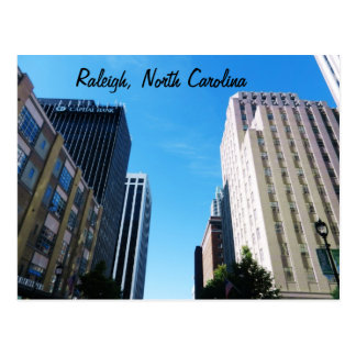 THE CITY OF RALEIGH, N.C. postcard