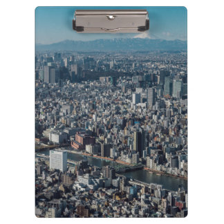 The city of Tokyo Clipboards