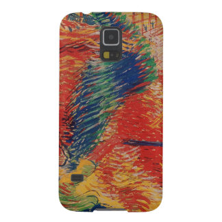 The City Rises, 1911 (tempera on card) Galaxy S5 Cover