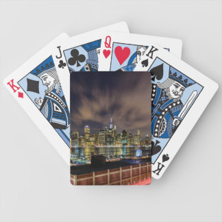 The City That Never Sleeps Bicycle Playing Cards