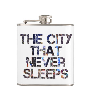 """the city that never sleeps"" flask"
