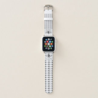 The Claddagh (Black) Apple Watch Band