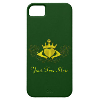 The Claddagh (Gold) Case For The iPhone 5