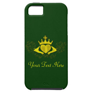 The Claddagh (Gold) iPhone 5 Cover