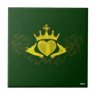 The Claddagh (Gold) Tile